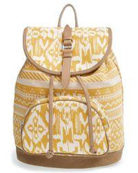 TOMS | 'Traveler' Canvas Backpack | Lyst
