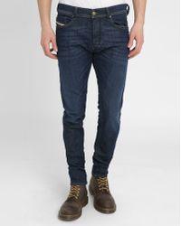 DIESEL   Blue Tepphar Slim-fit Jeans   Lyst