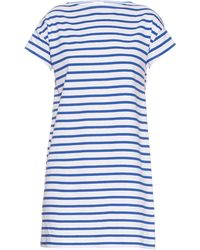 Orcival - Breton-Stripe Cotton Dress - Lyst