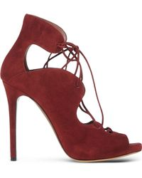 Tabitha Simmons | Reed Suede Lace-Up Boots | Lyst