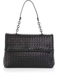 Bottega Veneta Olimpia Large Top-Handle Bag - Lyst