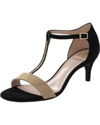 Lanvin | Chain T-strap Heel | Lyst