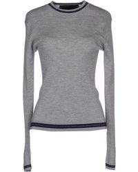 American Retro Sweater black - Lyst