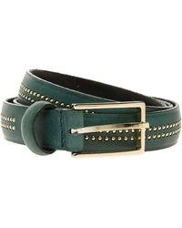 Paul & Joe Double Studded Row Belt - Lyst