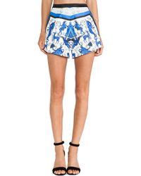 Clover Canyon Marble Party Short - Lyst