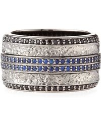 Stephen Webster Highwayman Sapphire Spinning Ring - Lyst