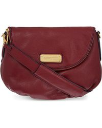 Marc By Marc Jacobs New Q Natasha Leather Cross-Body Bag - For Women - Lyst