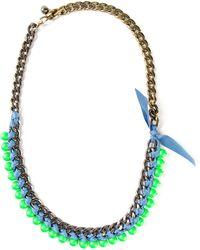 Lanvin '22 Faubourg' Necklace - Lyst