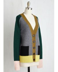 Orla Kiely - Draped In The Landscape Cardigan - Lyst