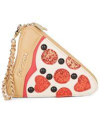 Betsey Johnson - Pizza Wristlet - Lyst