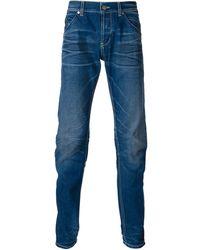 Dondup Straight Leg Jeans - Lyst