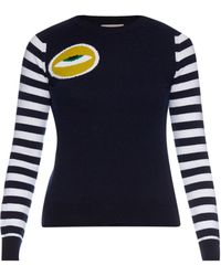 Esk | Eye Intarsia-knit Cashmere-knit Sweater | Lyst