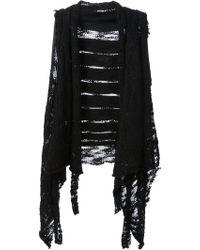 Simona Tagliaferri - Panelled Crochet Gilet - Lyst