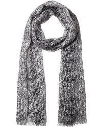 Olsen - Abstract Print Scarf - Lyst