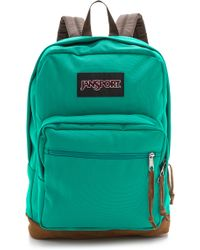 Jansport - Classic Right Pack Backpack - Spanish Teal - Lyst
