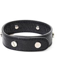 Balenciaga | Studded Leather Bracelet | Lyst