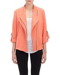 Barneys New York Elliot Jacket orange - Lyst