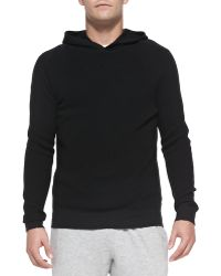 Theory Dami Hooded Pullover Sweatshirt - Lyst