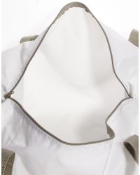 American Apparel - Duffle Bag In White - Lyst