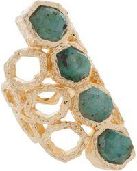 Isharya Goddess Ring - Lyst