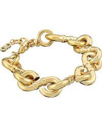Cole Haan - Logo Link Line Bracelet - Lyst