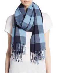 BCBGeneration - Chequered Scarf & Top - Lyst