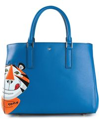 Anya Hindmarch Frosties Featherweight Ebury Tote - Lyst