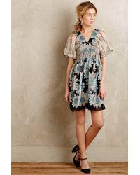 Anna Sui Miri Silk Kimono Dress - Lyst