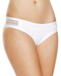 Becca - Mesh Hipster Bikini Bottom - Lyst