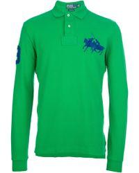 Polo Ralph Lauren Longsleeved Polo Shirt - Lyst
