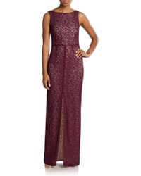 Alice + Olivia Gemma Lace Gown - Lyst