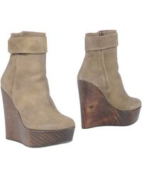 Opening Ceremony | Wedge Heels Ankle Boots | Lyst