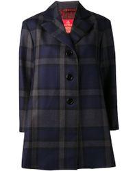 Vivienne Westwood Plaid Coat - Lyst