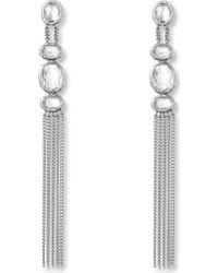 Gucci Raindrop Sterling Silver Drop Earrings - Lyst