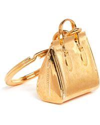 Alexander McQueen Heroine Bag Keyring - Lyst