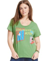 Out Of Print - Plus Size Goodnight Moon Graphic Tee - Lyst