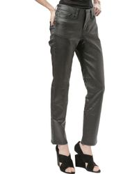 Troa | Relaxed Baxter Pant Waxed Black | Lyst