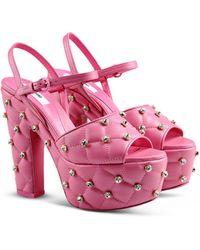 Moschino Platform Sandals - Lyst