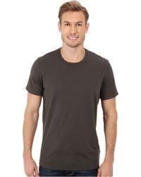 Velvet By Graham & Spencer Howard S/S Crew Neck Whisper Jersey T-Shirt - Lyst