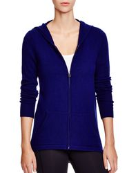 C By Bloomingdale's - Zip-front Cashmere Hoodie - Lyst