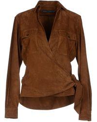 Ralph Lauren Brown Shirt - Lyst