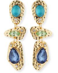 R.j. Graziano - Linear Drop Earrings - Lyst
