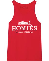 Brian Lichtenberg Homiés Cotton Tank - Red
