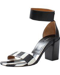 Chloé Black Ayers Sandal - Lyst