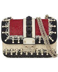 Valentino Embellished Clutch Bag Bag - For Women - Lyst