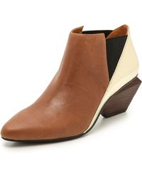 United Nude Jacky Booties  Brownblackgold - Lyst