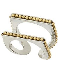 Topshop Split Section Ring - Lyst