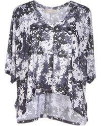 Stella McCartney T-Shirt purple - Lyst