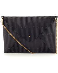 Lizzy Disney Black Embossed Leather Bag - Lyst