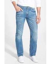 Hudson Men'S 'Byron' Straight Leg Jeans - Lyst